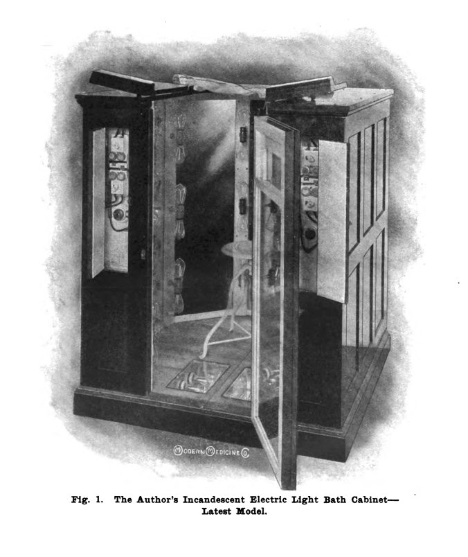 Kellog light bath invention